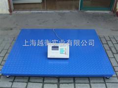 SCS上海报警电子地磅、3吨带打印地磅秤,1.2*1.5米带打印电子磅秤