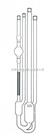 带管口螺纹和清洗管,ASTM乌式管Julabo&visco毛细管粘度计