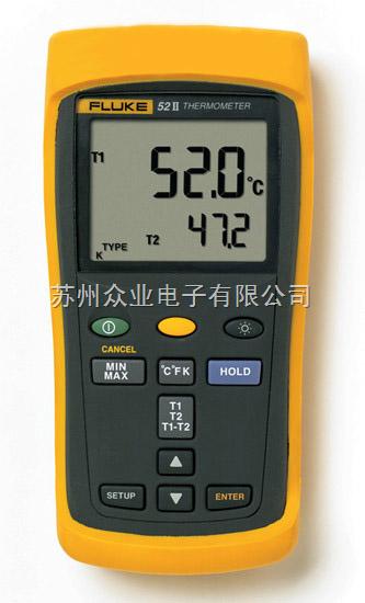 双输入数字温度表
