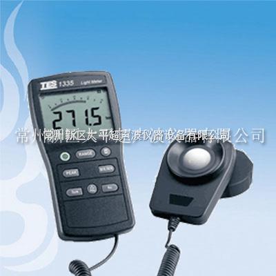 TES-1335 数字式白光照度计 0-400000Lux