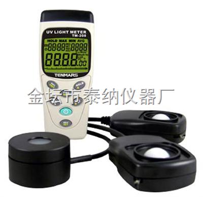 T208太阳光测试仪(光照度/太阳功率/紫外线三合一)