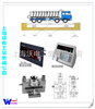 SCS带打印电子大地磅价格,电子地磅生产厂家